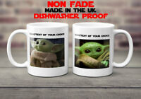 Baby Yoda Mug Personalised custom Coffee tea cup gift funny cute Mothersday love