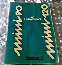 MINI 90 MINI 120 INNOCENTI uso e manutenzione 1976