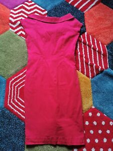 Collectif Size 3XL 20 Red Wiggle Dress Rockabilly