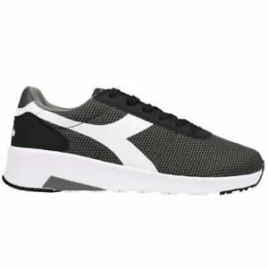 Diadora Evo Run Dd Lace Up  Mens  Sneakers Shoes    - Black