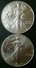 2021 Type 1 and Type 2 $1 American Silver Eagle Dollars