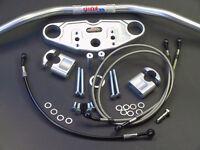 ABM Superbike  Lenker Umbau - Kit für YAMAHA FZR 600 89-93 3HE * 3RH * 3HF * 3RG