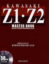 [BOOK+DVD] Kawasaki Z1 Z2 master book 900 Super 4 750RS Z900 Z750 Japan
