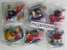 MIP LOT 6 Sonic Drive In 1999 WACKY PACK EXPRESS Fast Food Train Engine Toys