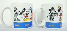 Mickey Minnie Mouse Coffee Mug Set Cocoa Tea Cup Disney Applause 33097 33098