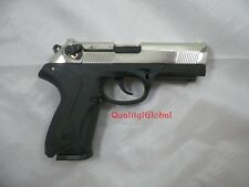 EXCLUSIVE 9MM CHROME ITALY REPLICA BERETTA P4 MOVIE PROP PISTOL HANDGUN TRAINING