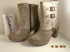 Caterpillar Shontelle Women Brown Ankle Leather Boots size 6