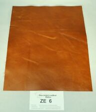 """""""Fire River"""" Tan Craft Leather Piece 9.5"""" by 12"""" ZE6-9512 Cool Western Look!"""