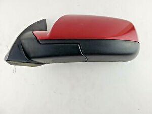 2010-2014 Chevrolet Equinox Heated Driver Side View Door Mirror Left Red  OEM