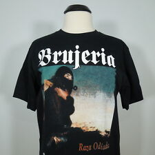 BRUJERIA Raza Odiada T-Shirt Black Men's size XL (NEW)