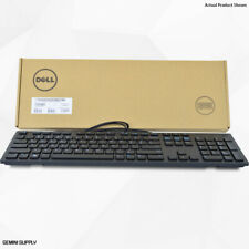 NEW Genuine Dell KB216-BK-US Wired Keyboard - Membrane Black USB