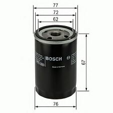 BOSCH ENGINE OIL FILTER OE QUALITY REPLACEMENT 0451103300