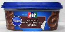 Pillsbury JIF Chocolate Peanut Butter Frosting 11 oz