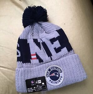 2020 New Era NFL New England Patriots COLD WEATHER SPORT KNIT Beanie .