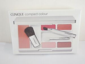 Clinique compact colour blush eyeshadow lipstick
