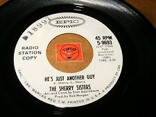 THE SHERRY SISTERS - HE'S JUST ANOTHER GUY - SAILOR / LISTEN - TEEN GIRL POPCORN