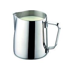 Edelstahl Milchgießer Milchkännchen Milchkanne Aufschäumer Sahnekännchen 350 ml