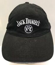 Jack Daniel's Daniels Old No 7 Baseball Cap Hat Embroidered Black OSFA