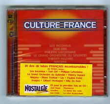2 CD (NEUF)CULTURE FRANCE (LIO NIAGARA TAXI GIRL IMAGES J.P.CAPDEVIELLE GOTAINER