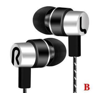 Universal 3.5mm In Ear Earphone Super Bass Stereo Earphones Earbud Hea A8Q5