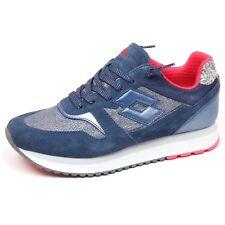Lotto Sneakers Slice Denim W Blu-rosa T4617 40 Blu