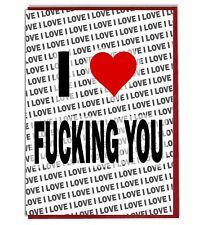 Greeting Card - Birthday I Love Fucking You