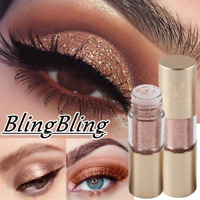 Waterproof Eyeshadow Metals Glitter Glow Liquid Metallic Eye Shadow Eyeliner New