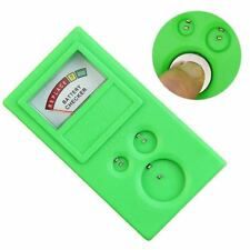 Watch Button Cell Coin Battery Power Capacity Tester Checker LR44 CR2032 CR2025