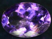 Natural Untreated Violetish Purple Amethyst Gemstone