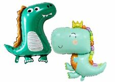 2PCS Cute Dinosaur Foil Balloon Party Decoration