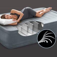 Intex Comfort Plush 91 Luftbett Fiber Tech Luftmatratze mit eingebauter Pumpe