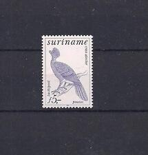 Suriname 1979 5 Guilder Airmail Issue Crested Curassow High Cat Crax  Alector