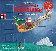CD * DER KLEINE DRACHE KOKOSNUSS FEIERT WEIHNACHTEN - KALENDER  # NEU OVP &