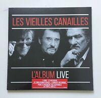 Vinyles 33T LP Les Vieilles Canailles – Le Live (sous blister)