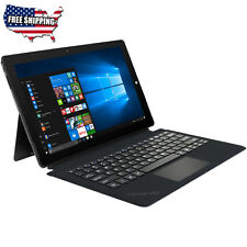 Teqnio Tablet/ Laptop - 2 in 1, 11.6-inch, 32GB/ 4GB with Windows 10 and Keyboar