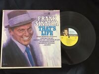 Frank Sinatra That's Life MONO F-1020 1966 play test VG+