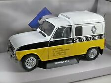 RENAULT 4 F4 Van Renault Service 1/18 scale model by SOLIDO