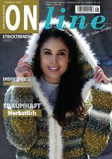 ONline Strickheft Stricktrends Ausgabe 48 Winter 2017/2018