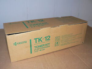 Kyocera Originaltoner BLACK TK-12 Toner Kit FS 1550/1600/3400/3600/6500