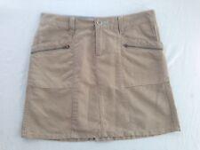 Horny Toad Skirt Beige/Tan Linen Blend Size 2