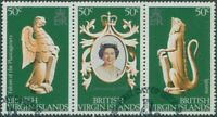 British Virgin Islands 1978 SG384-386 QEII Coronation strip FU