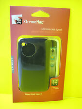 XTREMEMAC TUFFWRAP CASE FOR IPOD TOUCH 4TH GEN SILICONE CASE 2 PACK BLK&WHT