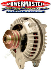 Powermaster 7019 Mopar 90 Amp Round Back Alternator w/2V-Pulley Natural