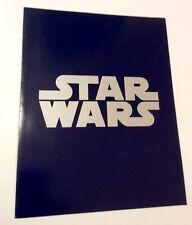 Lucas Film 1977 Star Wars Studio Media Movie Premiere Program