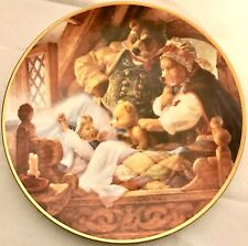 Goldilocks & the Three Bears Collector Plate Knowles Scott Gustafson Fairy Tales