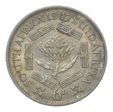 Better - 1942 South Africa 6 Pence - TC *988