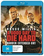 A Good Day To Die Hard (Blu-ray, 2013) Extended Cut. Bruce Willis & Jai Courtney