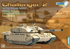 Dragon Armor Challenger 2 Battle Tank Royal Scots Iraq 2003 1/72 Scale 62017