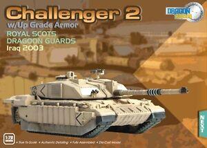 Dragon Armor Challenger 2 Battle Tank Royal Scots Iraq 2003 1:72 Scale 62017