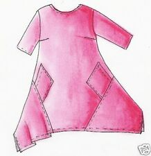 Schnittmuster Lagenlook Kleid Malibu Gr. XXL 56/58